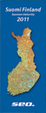 2011 Seo Map of Finland
