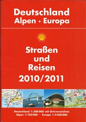 2010-11 Shell atlas of Germany and Europe
