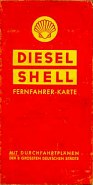 1939 Shell Diesel map of Germany