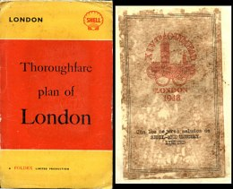 1948 Shell/Foldex map of London