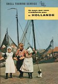 ca1960 Shell Touring brochure of Holland (in French)
