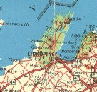 1962 Shell map showing Lidkoping