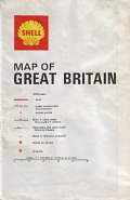 1968 Shell map of Great Britain