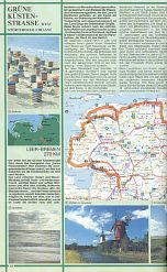 Beautiful Route from 1982 Shell Touring Atlas