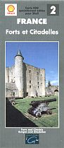 1994 French Shell Map of Castles