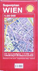 1998 Shell street map of Vienna