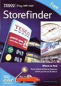 2005 Tesco map booklet of the UK