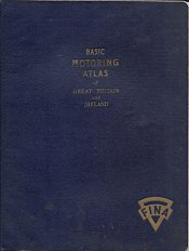 1951 Fina Basic Motoring Atlas of Great Britain and Ireland