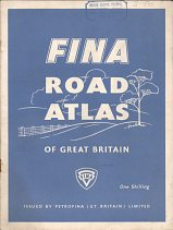 ca1955 Fina Road Atlas of Great Britain