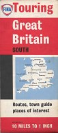 ca1970 Fina map of Great Britain - South